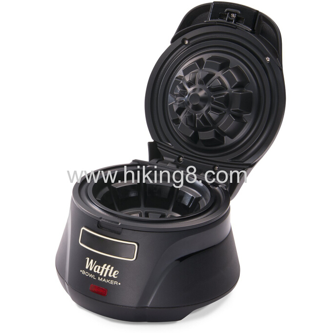 2016 hot sale waffle bowl maker ice cream bowl maker