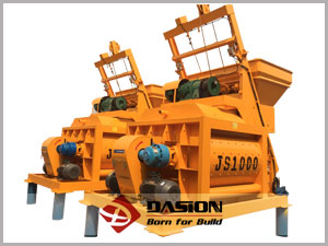Types of concrete mixer machines