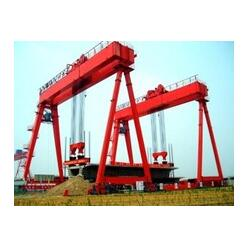 A type double girder gantry crane with hook
