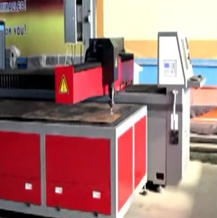cnc plasma laser cutting machine for thin metal