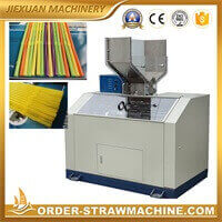 Flexible drinking straw bending machine