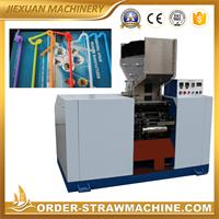 Artistic flex drinking straw making machine