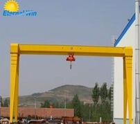 Electric hoist gantry crane from crane hometown