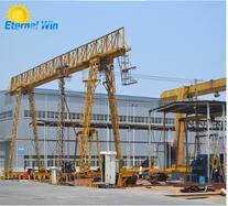 China famous 15ton single girder gantry crane for sale