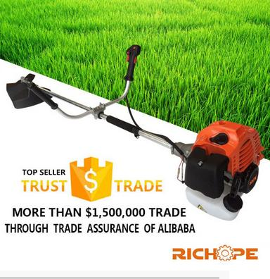 RICHOPE 43cc brush cutter with nylon and metal blade high quality