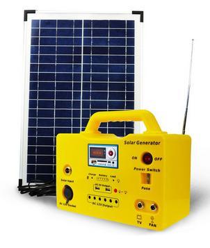 Solar Lighting System SG1220W Series (20W/18V)