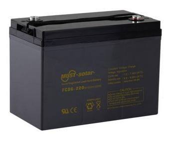 Deep Cycle AGM VRLA Battery
