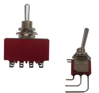 Miniature Toggle Switch with Excellent Current Rating