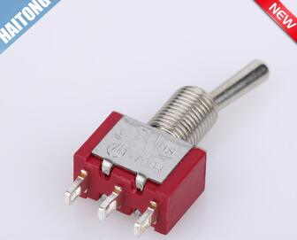 3 pin red toggle puch switch toggle switch with cheap price