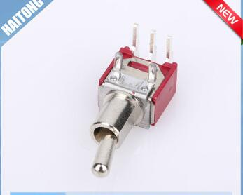 on off silver color waterproof 3 pin toggle switch