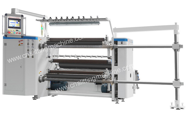 ZTM-D PLC Controlled High Speed Slitting Machine
