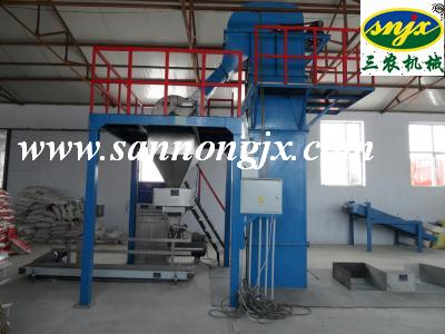 2016 Updated Fertilizer Floor Batching Production Line DPHB50-100-D