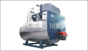 Integral condensing boiler