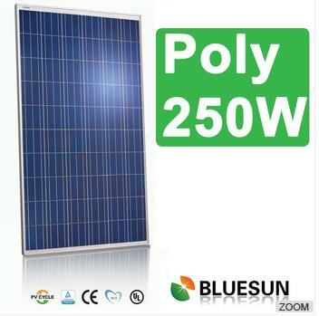 poly 250w high efficiency solar panel for bluesun pakistan