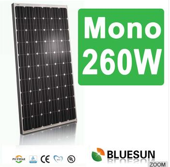 2015 Professional PV sharp solar panels Mono 260W for home use