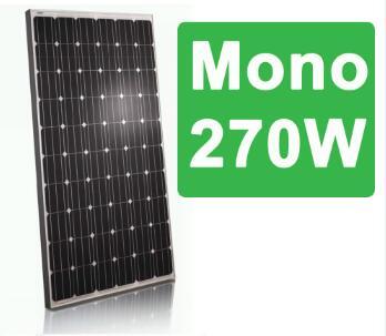 Bluesun hot selling 270w mono solar panel/mono 270w