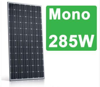 4BB mono 285w solar panels with 60cells