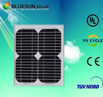 China top 1 mini monocrystalline 10watt solar pannel