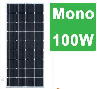 China top 10 100w off grid solar power kit solar panel module TUV CE MCS INMETRO