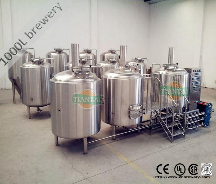 800L/7BBL batch Commercial Small Beer Equipment