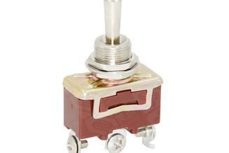 Micro Miniature on off Toggle Switch with Stainless Steel Housing