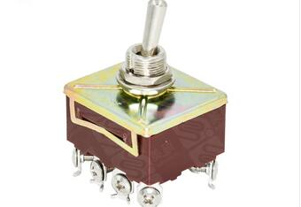 MEISHUO MSTS06 mini metal toggle switch on off switch