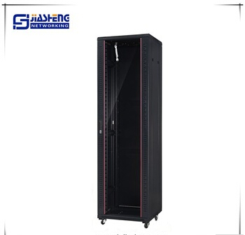 19'' Glass door rack cabinet server cabinet 42u