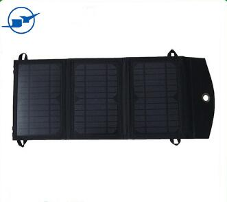 Wholesale Black Outdoor convenient bags solar folding bag Waterproof portable bag