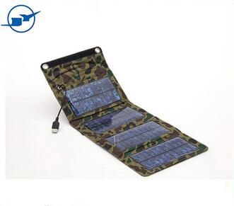 5v foldable solar charger bag phone cellphone charger for cellphone with monocrystalline solar cell panel