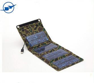 5v foldable solar charger bag phone cellphone charger for cellphone with monocrystalline solar cell panel