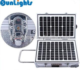 Salute box protable solar power system 40W