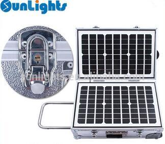 Salute box protable solar power system 40W