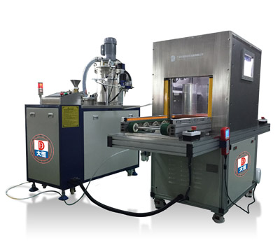 Vacuum Glue Potting Machine