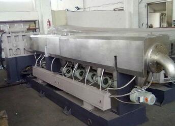 HS New Designed SJ150 single screw plastic compounding machine