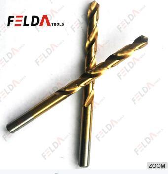 High Speed Steel M2 Twist Drill Bits Fully Ground DIN338 Titanium Drill Bits