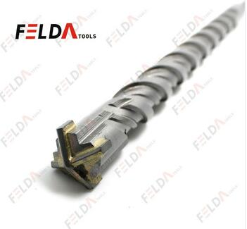 Ground Flute Carbide Tip Sand Blasted SDS Drill Bits