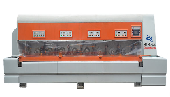 CKD3+5 Automatic Stone Line Shaping Polishing Machine