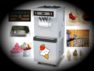 Pre-Cooling Soft Serve ice cream makers With Agitator In Hopper