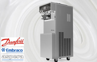 Air Pump Frozen Yogurt Machines, Energy Saving System, Direct Drive With no Belt, Standby and Pre-cooling Sytem