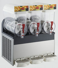 Triple Tanks 15L Commercial Frozen Drink Slush Machine, Double-Side 3 Bowls Slush Granita Machine