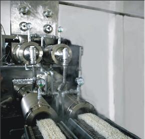 The Automatic Instant Rice Noodle & Vermicelli Production LineNRS4