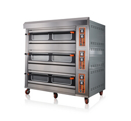 3 Decks 12 Trays Customized Gas Oven