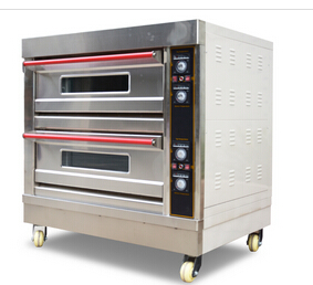 2 Decks 4 Trays Electric Oven(Upgraded)