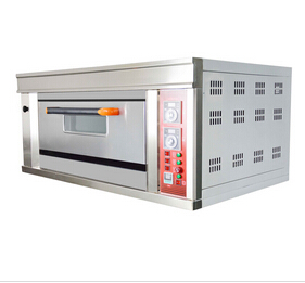 1 Deck 2 Trays Luxury Gas Oven