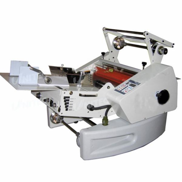 Full auto with cutter and full auto feeding WD360F Roll Laminating Machine