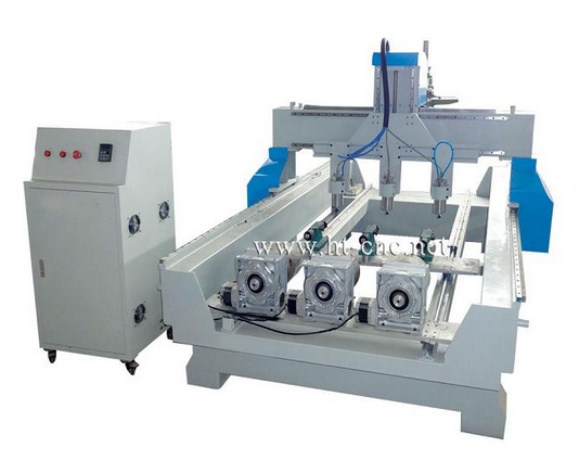 Three axis rotary CNC router HT-1218-3