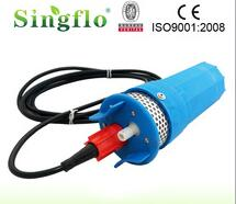 Singflo 4''12v solar water pump system dc brushness motor fro irrigation
