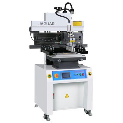 Semi-auto solder paste printer