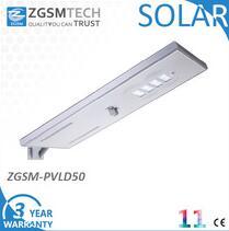 street light solar with 50w solar street led lighting system