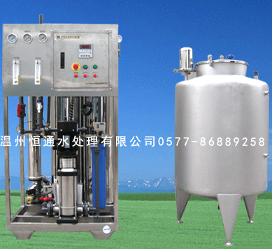 0.25 T/h of pure water equipment